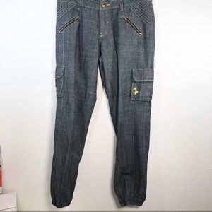 Baby Phat cargo jeans Size 11 (Junior)